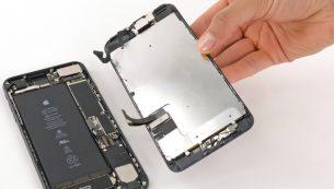 آموزش تعویض نمایشگر آیفون ۷ پلاس اپل