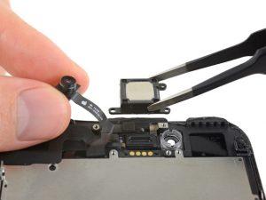 آموزش تعویض اسپیکر مکالمه آیفون ۷ پلاس اپل