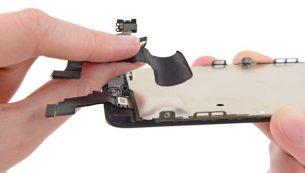 تعمیرات آیفون: تعویض دوربین سلفی آیفون ۵C اپل