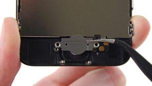 تعمیرات آیفون: تعویض فلت و سیم دکمه هوم آیفون ۵C اپل