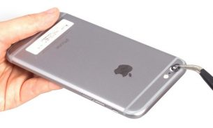آموزش تعویض شیشه لنز دوربین اصلی آیفون ۶ اپل + ویدیو