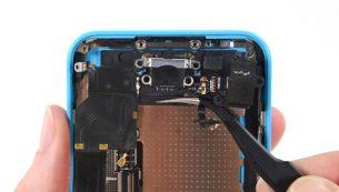 تعمیرات آیفون: تعویض سوکت شارژ آیفون ۵ سی اپل