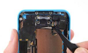 آموزش تعویض سوکت شارژ آیفون ۵ سی اپل + ویدئو