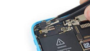 تعمیرات آیفون: تعویض موتور ویبره (ویبراتور) آیفون ۵C اپل