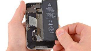 آموزش تعویض باتری آیفون ۴s اپل