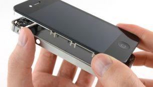 آموزش تعویض تاچ ال سی دی آیفون ۴s اپل
