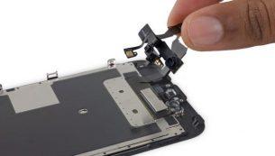 آموزش تعویض دوربین جلو آیفون ۶ اس اپل