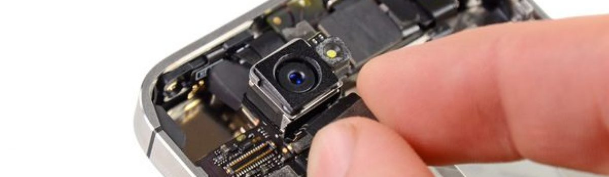 تعمیر آیفون: تعویض دوربین اصلی آیفون ۴S اپل