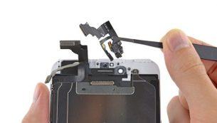 آموزش تعویض دوربین سلفی آیفون ۶ پلاس اپل