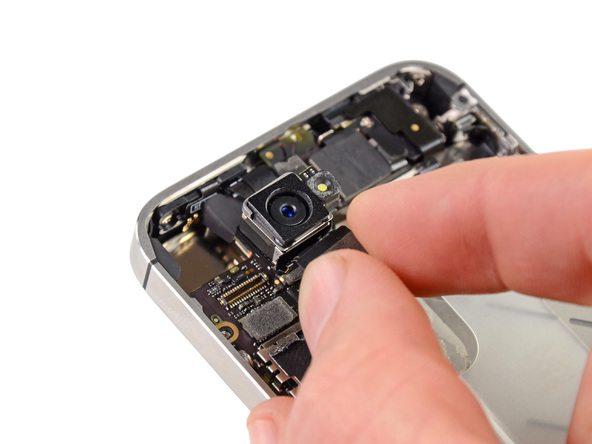 تعمیر آیفون : آموزش تعویض دوربین اصلی آیفون 4S