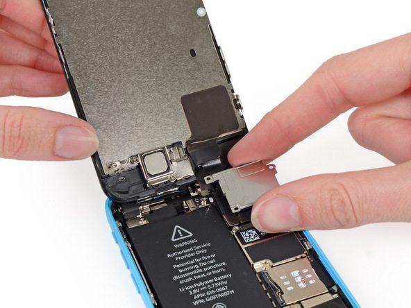 تعمیر آیفون : تعویض ال سی دی آیفون 5C اپل