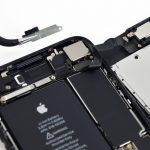 براکت بخش سنسور های آیفون 7 تعمیری را بردارید.