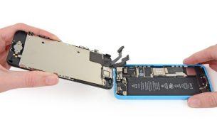 آموزش تعویض ال سی دی آیفون ۵C اپل + ویدئو