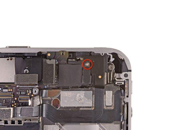 باز کردن پیچ کلیپس اتصال به پایه