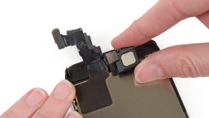 تعمیرات آیفون: تعویض اسپیکر مکالمه آیفون ۵ سی اپل