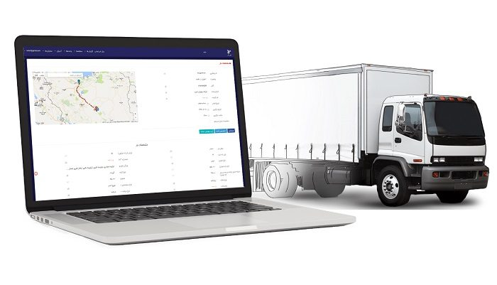 5 سرویس درخواست کامیون و تریلی آنلاین برتر