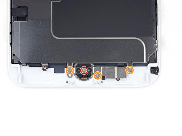 پیچ 1.2 میلیمتری که در عکس با رنگ قرمز مشخص شده را با پیچ گوشتی Y000 باز کنید.