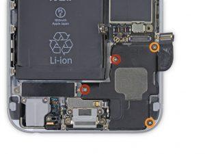 آموزش تعویض اسپیکر بازر آیفون ۶ اپل