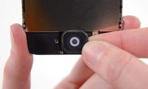 آموزش تعویض دکمه هوم یا تاچ آیدی آیفون ۵C اپل + ویدئو