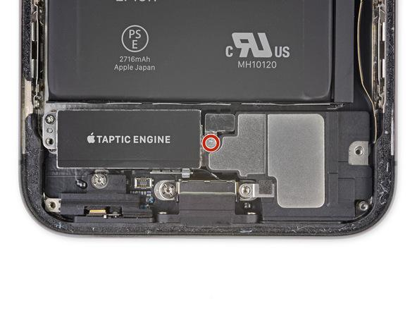 پیچ 2.1 میلیمتری که در عکس با رنگ قرمز مشخص شده و براکت کانکتور اسپیکر است را باز کنید.