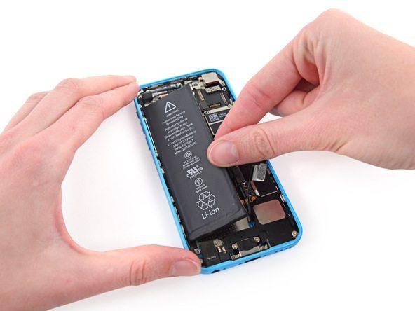تعمیر آیفون : آموزش تعویض باتری آیفون 5 سی (iPhone 5C)