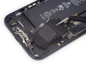 آموزش تعویض بازر یا بلندگو آیفون ۷ اپل + ویدیو