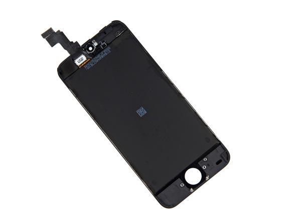 حال میتوانید نسبت به تعویض تاچ ال سی دی آیفون 5 سی (iPhone 5C) اقدام کنید. در نظر داشته باشید که باید تمام متعلقاتی که از صفحه نمایش قدیمی آیفون جدا کرده بودید را دوباره به صفحه نمایش و مجموعه ال سی دی گوشی متصل کنید.