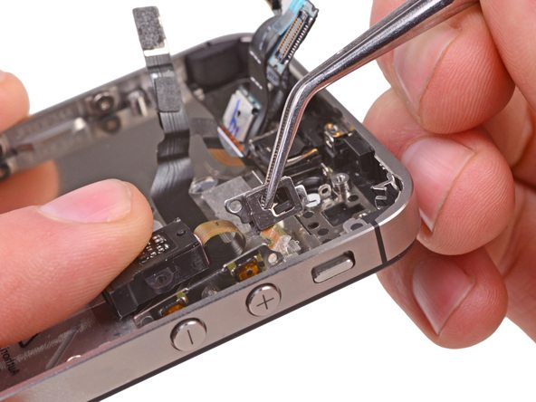 جداسازی براکت پشت دکمه سایلنت