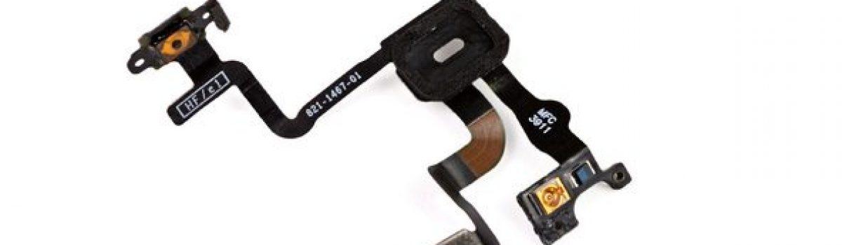 تعمیر آیفون:  تعویض سیم دکمه پاور آیفون ۴S اپل
