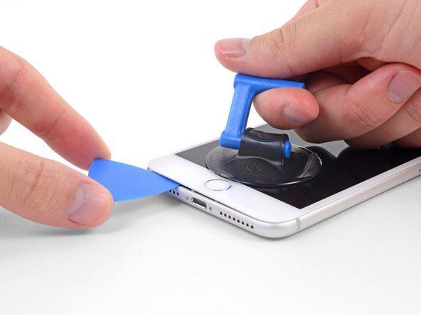 آموزش تعویض ال سی دی آیفون 8+ اپل