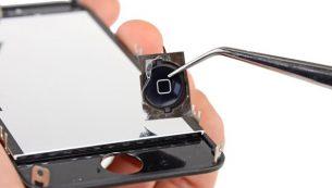 آموزش تعویض دکمه هوم آیفون ۴s اپل