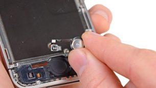 آموزش تعویض سیم دکمه هوم آیفون ۴s اپل