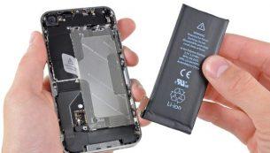 تعمیرات آیفون: تعویض باتری آیفون ۴ اپل