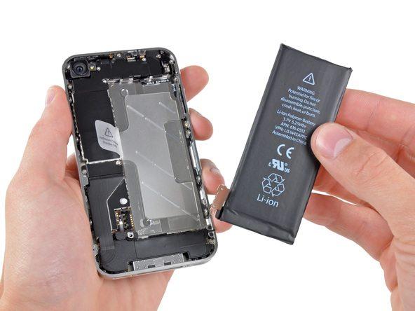 تعمیرات آیفون : آموزش تعویض باتری آیفون 4 اپل