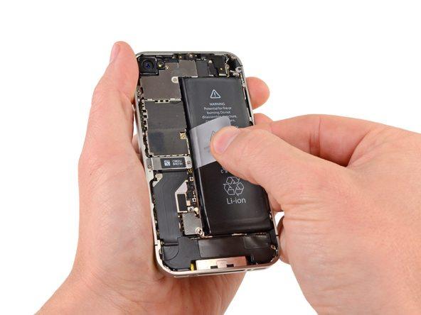 جداسازی و تعویض باتری iPhone 4s (آیفون 4 اس)