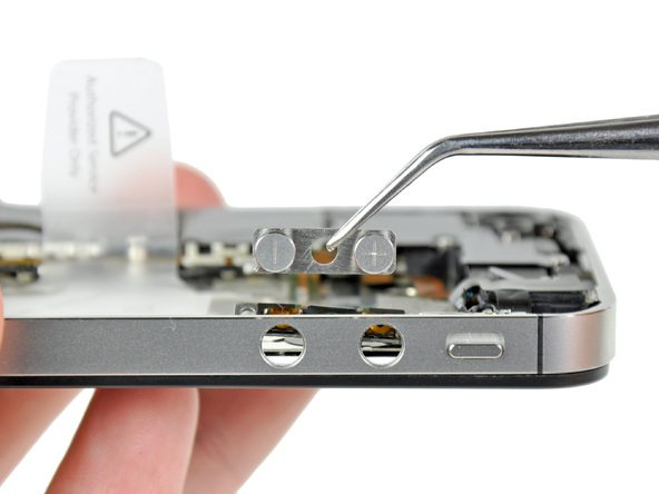 تعویض دکمه ولوم آیفون 4s اپل