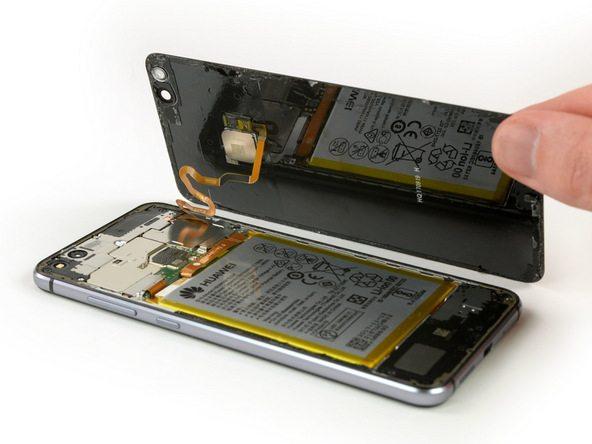 تعمیر موبایل : آموزش تعویض درب پشت هوآوی پی 10 لایت (P10 Lite)
