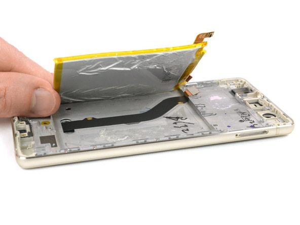 تعمیر موبایل : آموزش تعویض تاچ و ال سی دی هوآوی P9 Lite