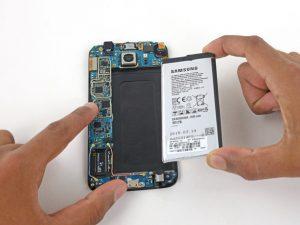 آموزش تعویض باتری S6 سامسونگ