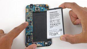 آموزش تعویض باتری گوشی گلکسی اس ۶