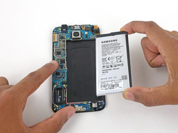 تعویض باتری گوشی گلکسی اس 6