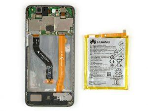 آموزش تعویض باتری هوآوی پی ۱۰ لایت