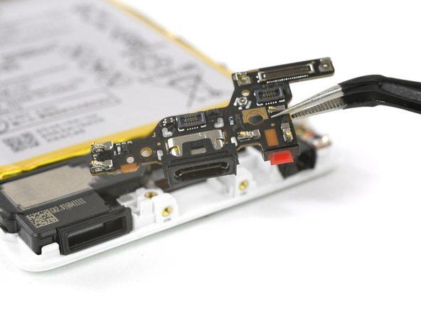 تعمیرات موبایل : آموزش تعویض فلت شارژ هوآوی P9