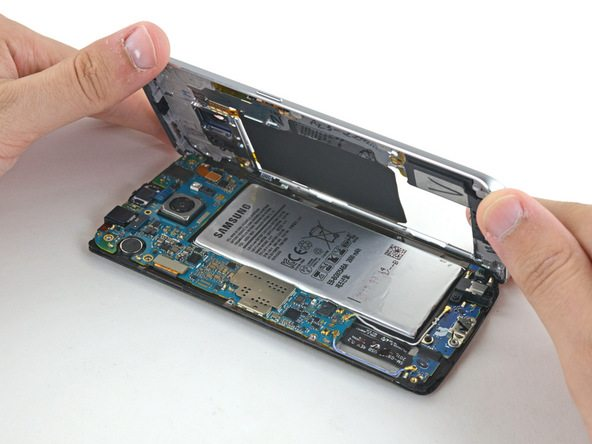 Samsung Galaxy S6 Edge Midframe Assembly Replacement