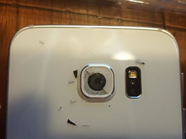Samsung Galaxy S6 Edge Rear Camera Lens Glass Replacement