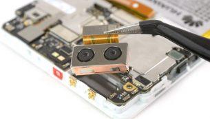آموزش تعویض دوربین اصلی گوشی هوآوی پی ۹