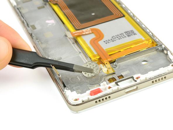تعمیر موبایل : آموزش تعویض موتور ویبره هوآوی P8 Lite