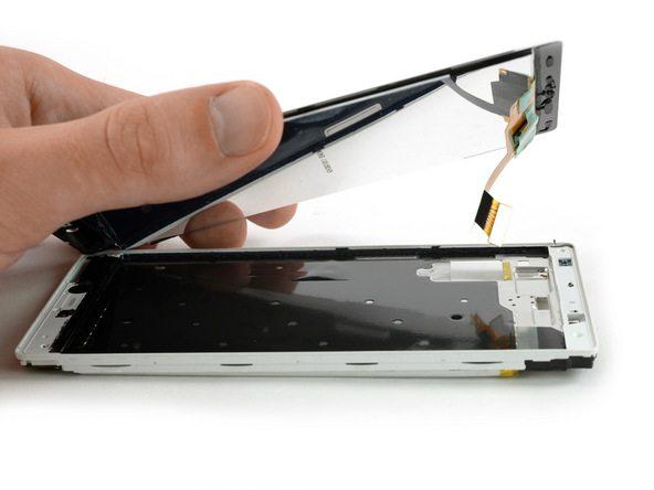 تعمیرات موبایل : آموزش تعویض ال سی دی هوآوی P8