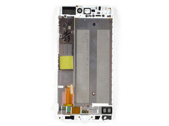 تعمیر موبایل : آموزش تعویض تاچ ال سی دی هوآوی P8