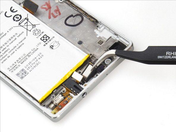 تعمیرات موبایل : آموزش تعویض اسپیکر مکالمه هوآوی P7